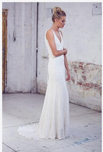 Karen Willis Holmes Aster Wedding Dress On Sale 67 Off