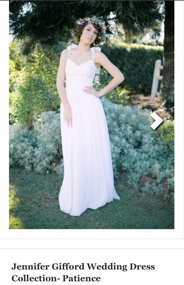 Jennifer Gifford Patience New Wedding Dress on Sale 80% Off