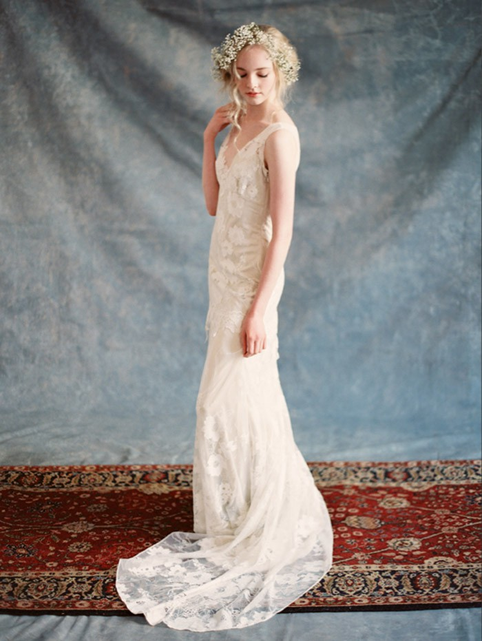 Claire pettibone gardenia romantique new wedding dress on for Where to buy claire pettibone wedding dress