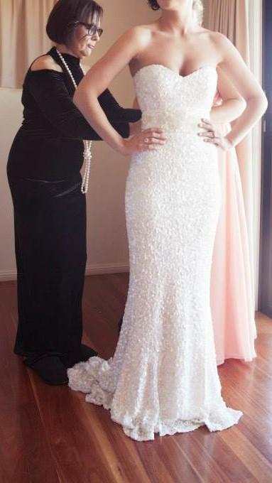 Karen Willis Holmes Maria Wedding Dress On Sale 47 Off