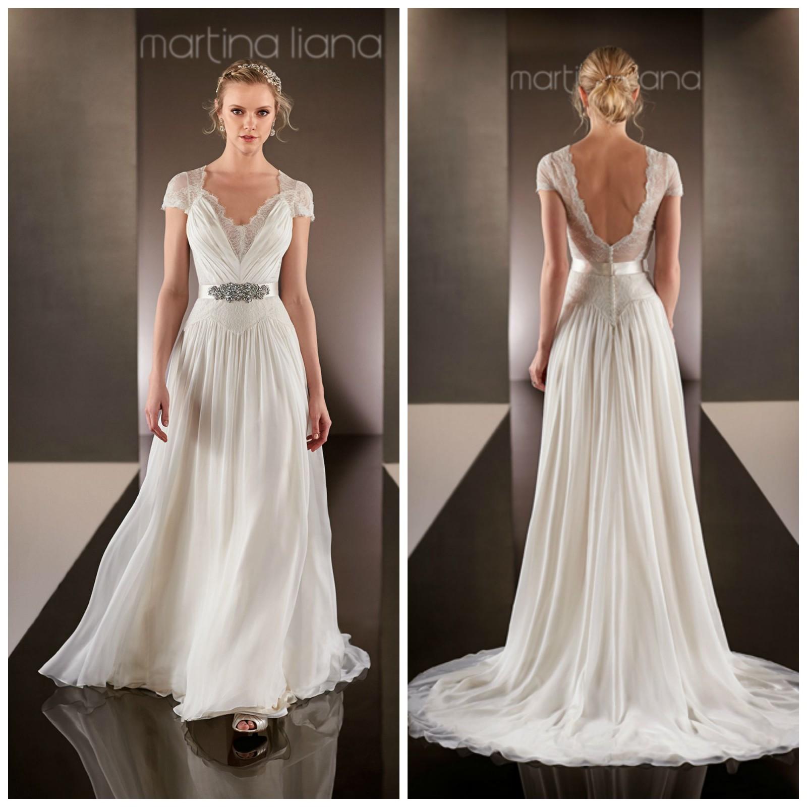 Martina Liana 574 Used Wedding Dress On Sale 47% Off