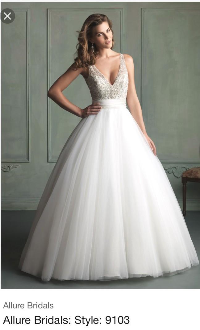 Allure Bridals 9103 - Used Wedding Dresses - Stillwhite