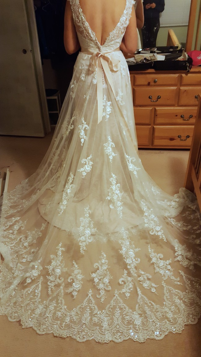 Ronald joyce jessie 18061 new wedding dress on sale 20 off for Ronald joyce wedding dresses prices