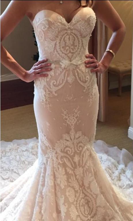 Inbal Dror Br15 16 Used Wedding Dress On Sale 47 Off