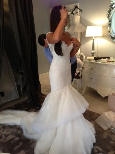 Steven khalil second hand wedding dress on sale for Steven khalil wedding dresses cost