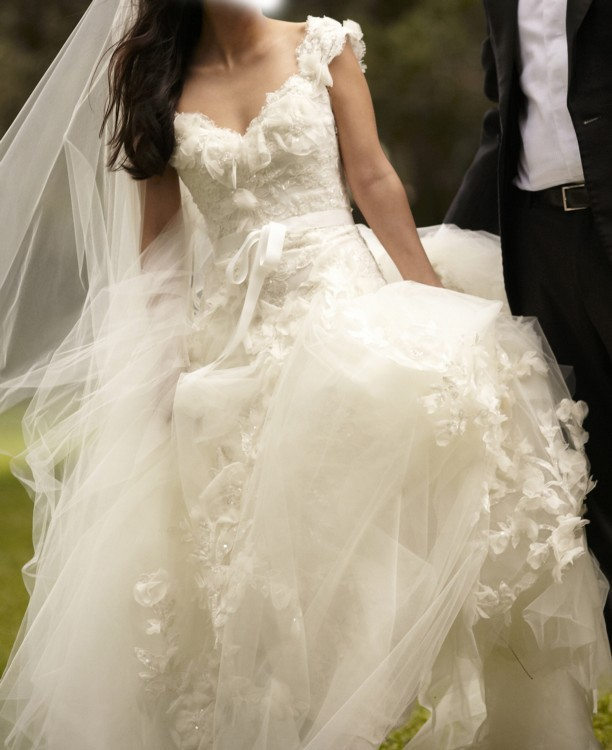 Elie Saab Aglaya Pre-Owned Wedding Dress on Sale 59% Off