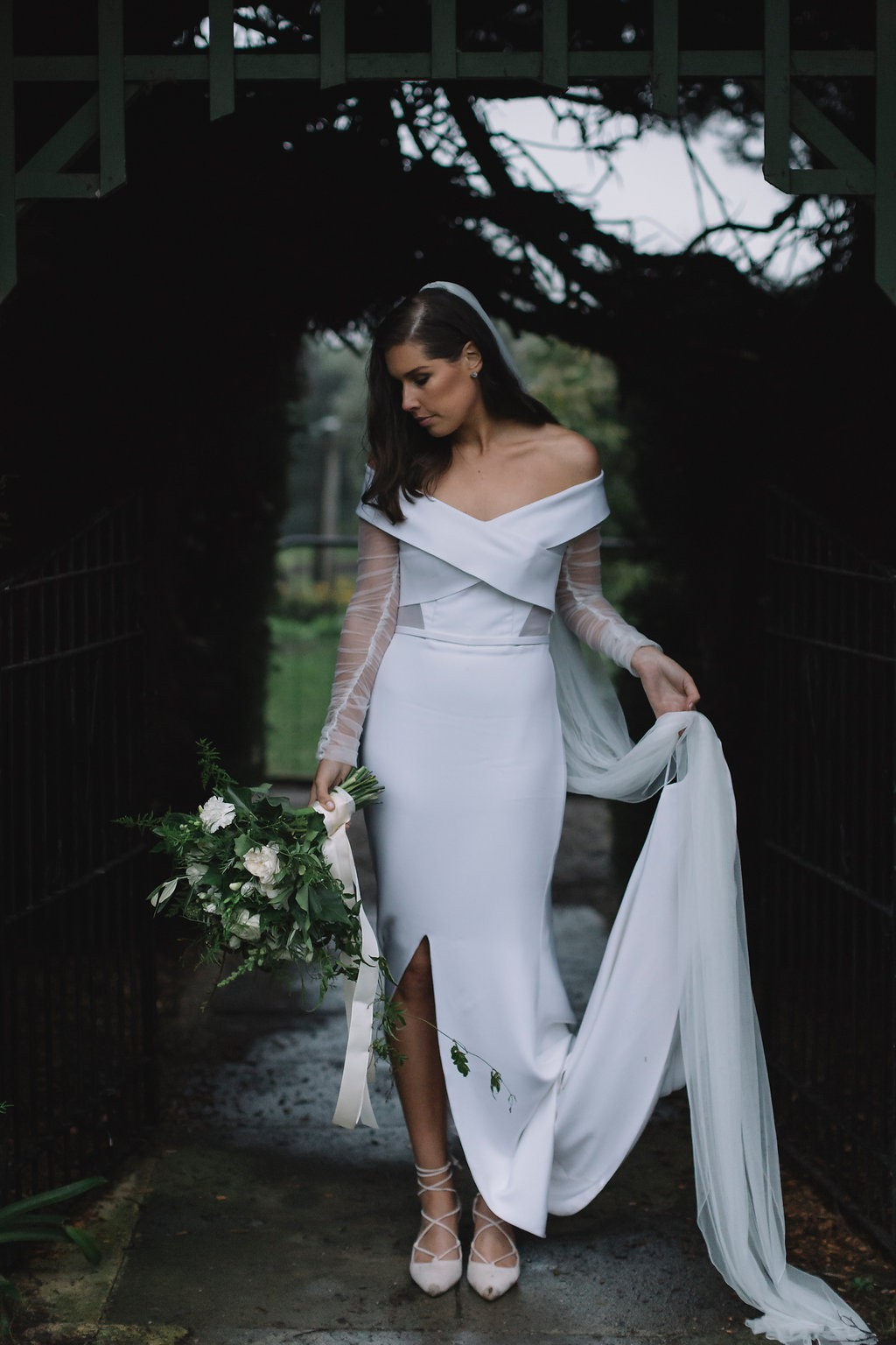 One day bridal violet gown second hand wedding dress on for Second hand wedding dresses san diego