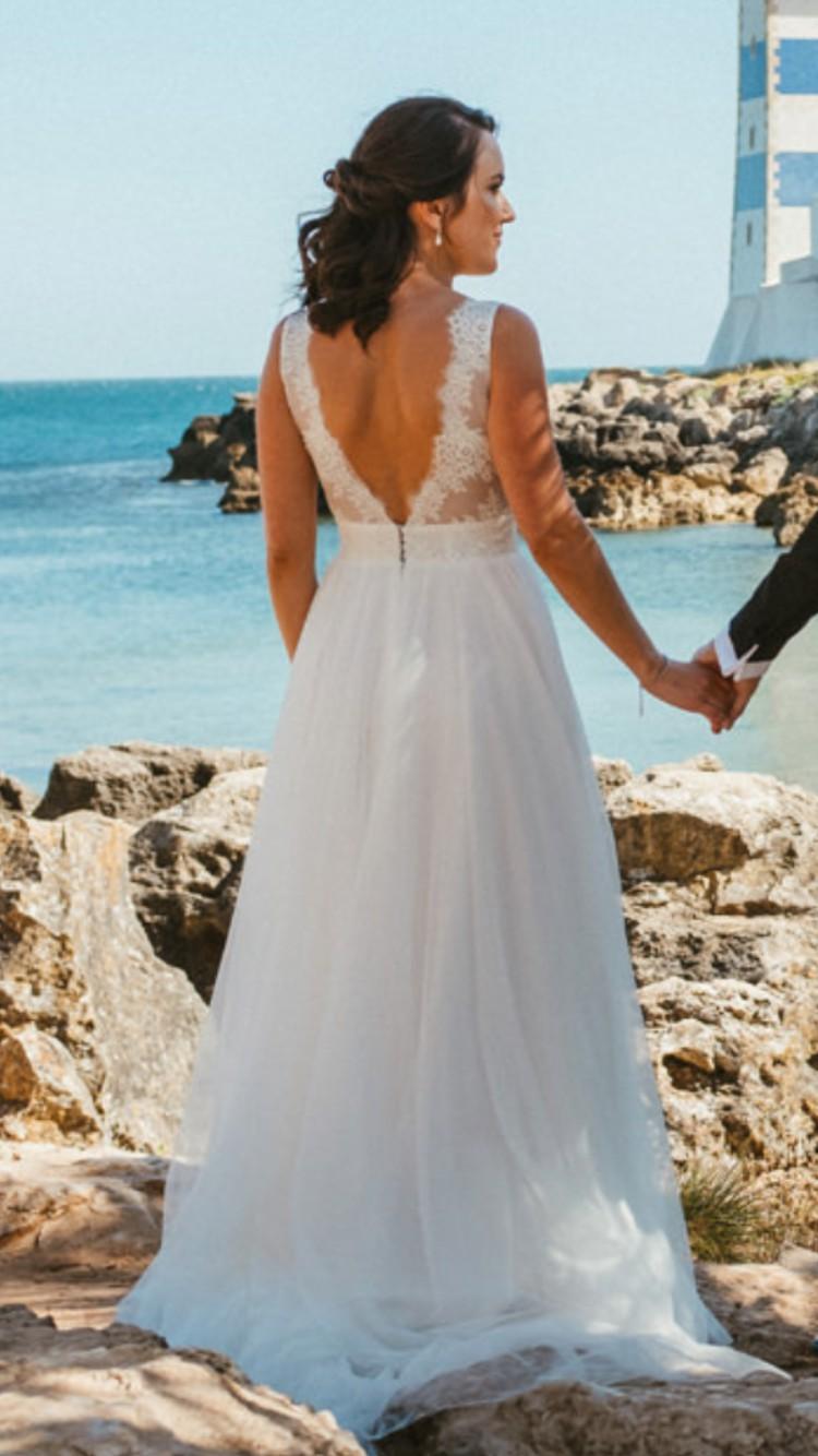 Cymbeline belen second hand wedding dress on sale 67 off for Second hand wedding dresses san diego