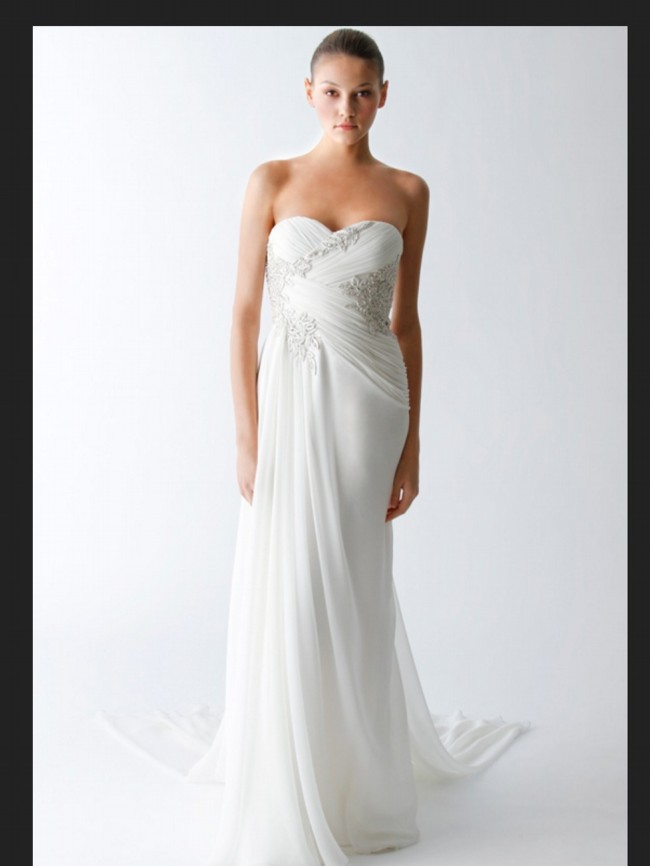 Marchesa b20810 second hand wedding dress on sale 65 off for Marchesa wedding dress sale