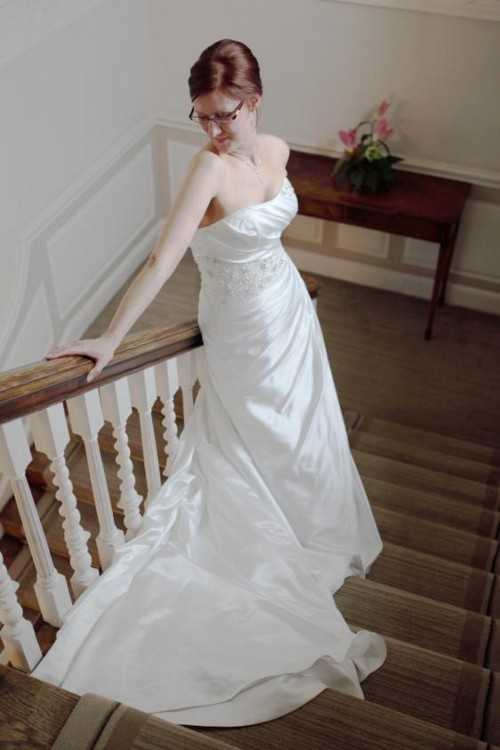 Maggie sottero mirin wedding dress on sale for Wedding dress cleaned and boxed