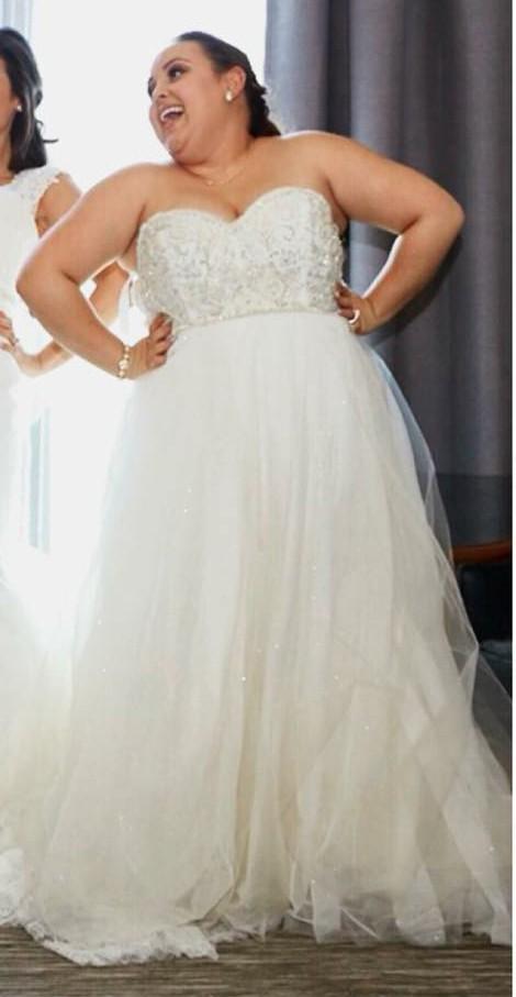 Tara Keely 2554 Used Wedding Dress On Sale 72 Off