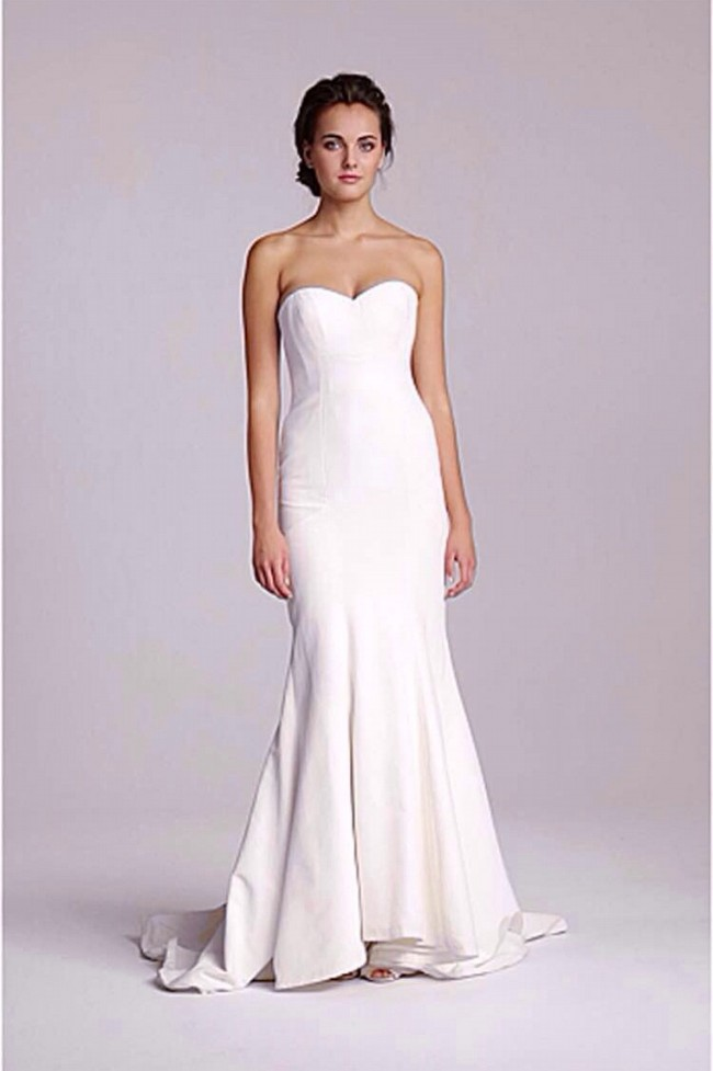 Nicole miller dakota new wedding dresses stillwhite for Nicole miller wedding dresses nordstrom
