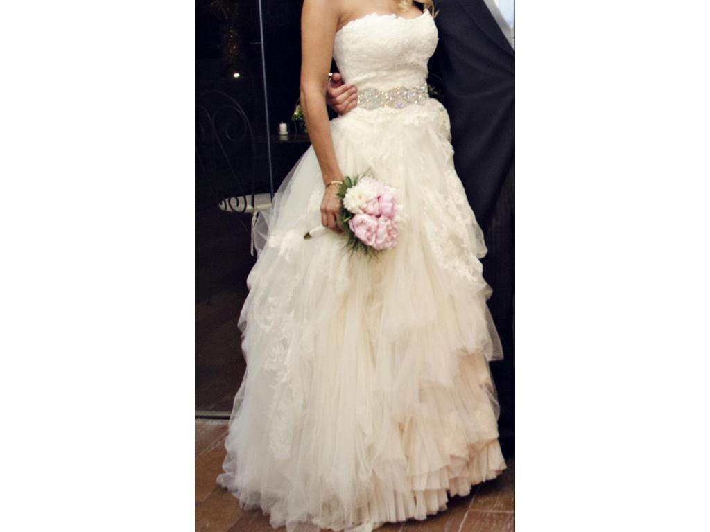 Vera wang eliza second hand wedding dress on sale 75 off for Second hand vera wang wedding dress