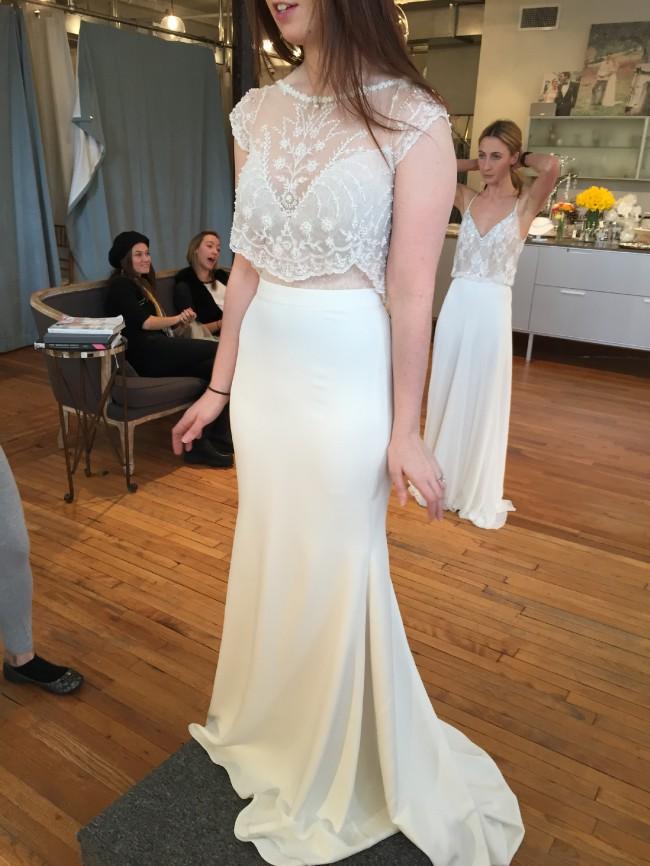 Lihi hod blush skirt new wedding dress on sale 37 off for Lihi hod wedding dress for sale