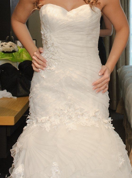 San patrick rosalina second hand wedding dress on sale 60 off for Second hand wedding dresses san diego