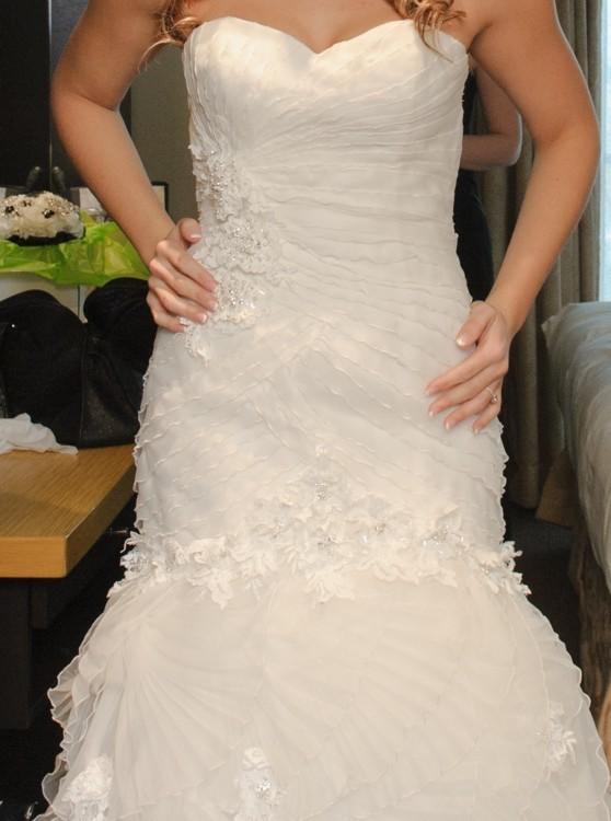 San patrick rosalina second hand wedding dress on sale 60 off for Second hand wedding dresses san diego