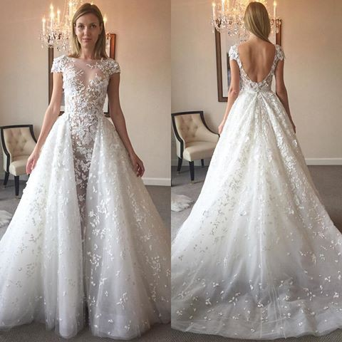 Zuhair murad vanna second hand wedding dress on sale 64 off for Zuhair murad wedding dresses prices