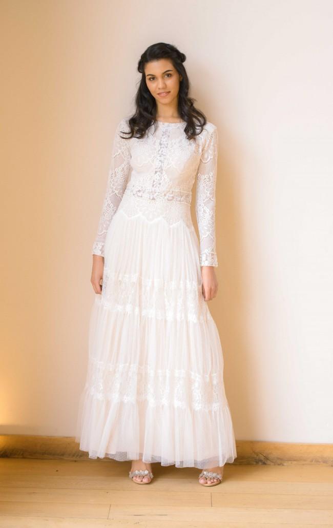 Isabella Couture, Custom Made Boho wedding dress UK2024