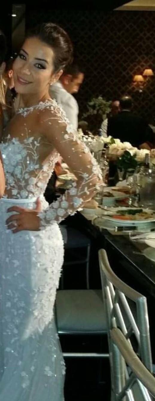 Paolo Sebastian Custom Made Used Wedding Dress on Sale 56% Off