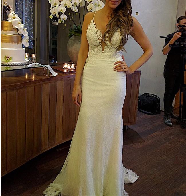 Second Hand Wedding Dresses: Casey Jeanne Auriele Second Hand Wedding Dress On Sale