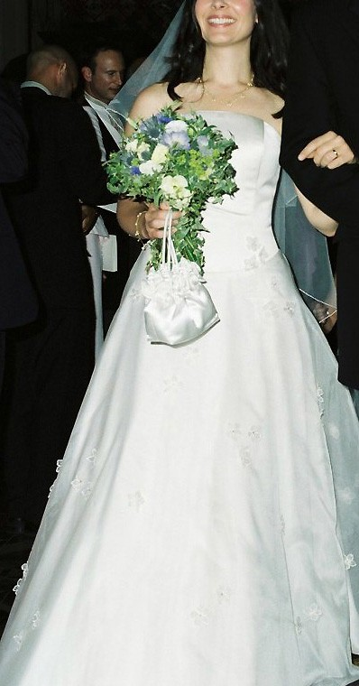 Forget me not second hand wedding dresses stillwhite for Second wedding dresses not white