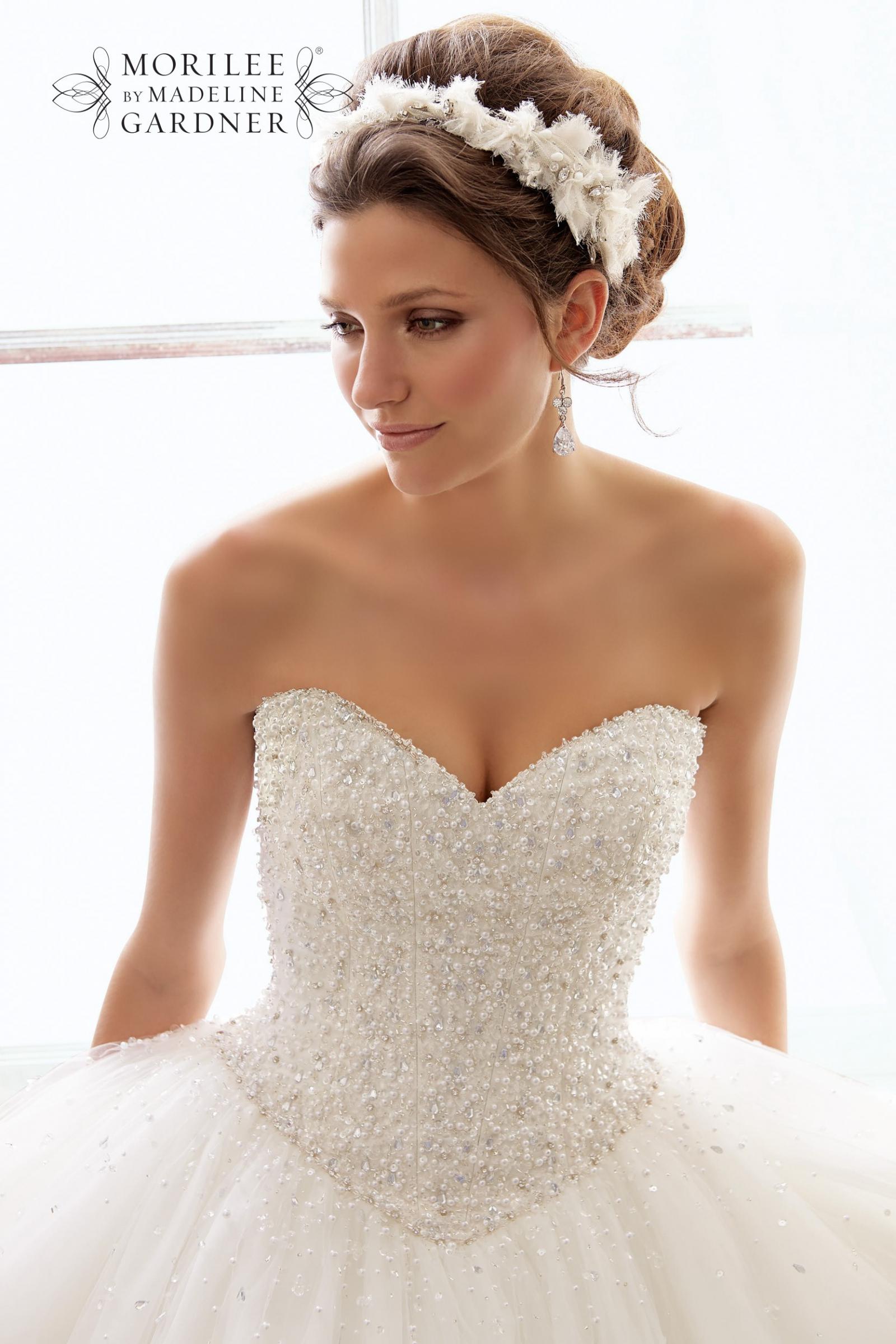 Morilee 5216 Second Hand Wedding Dress on Sale 65% Off