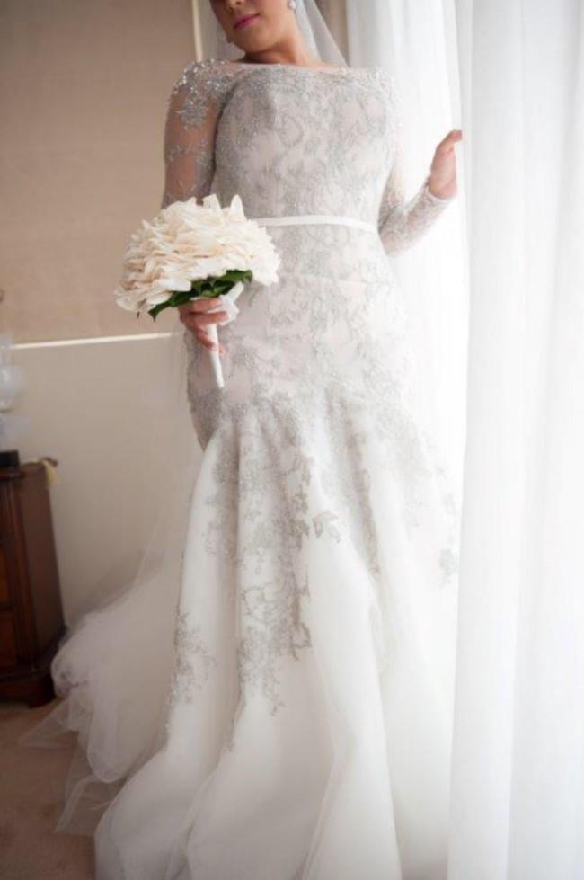 Steven khalil second hand wedding dress on sale 43 off for Steven khalil wedding dresses cost