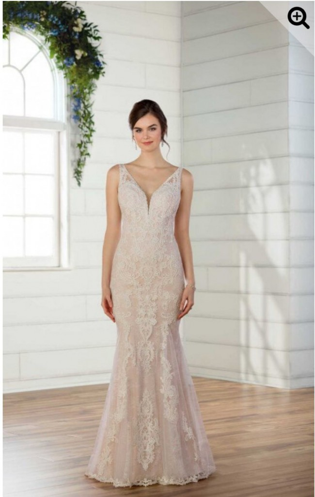 Essense of Australia, LACE BOHO WEDDING DRESS
