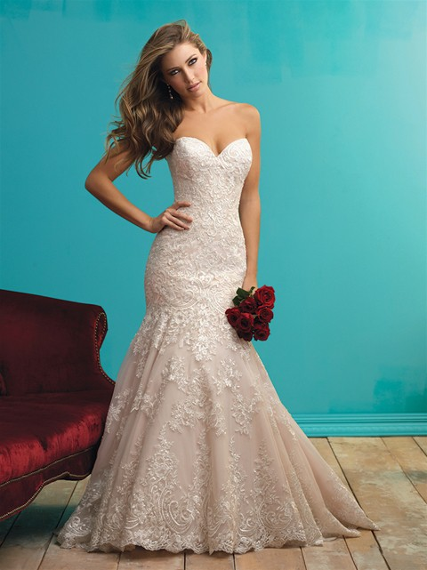 Allure Bridals 9261 PreOwned Wedding Dress on Sale 47% Off