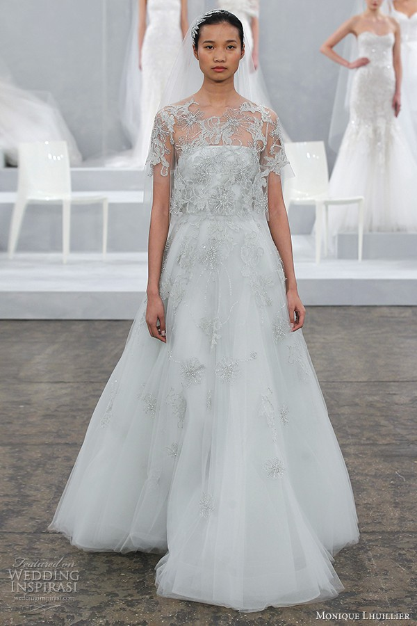 Monique lhuillier elsa used wedding dresses stillwhite for Monique lhuillier wedding dress price