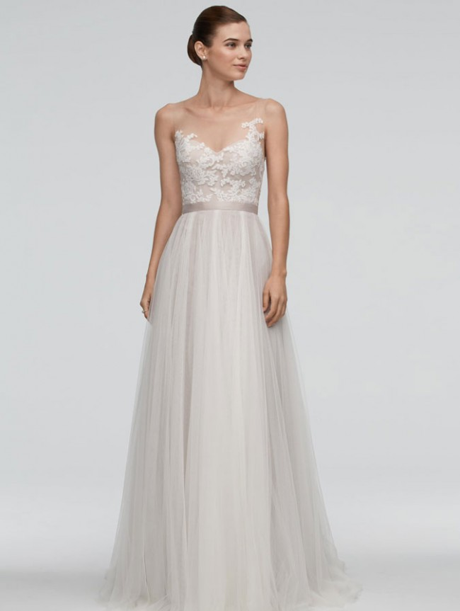 Watters new wedding dress on sale 40 off for Wtoo wedding dress prices
