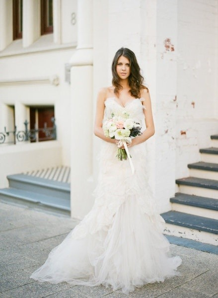 Pallas Couture Mouchette Wedding Dress On Sale 14 Off