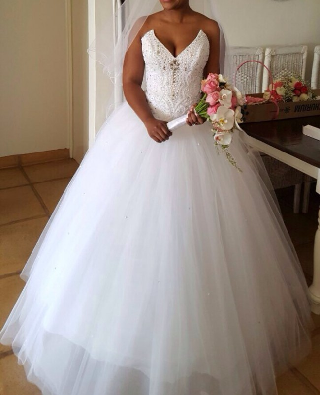 Used Wedding Gowns: Ball Gown Used Wedding Dress On Sale 56% Off