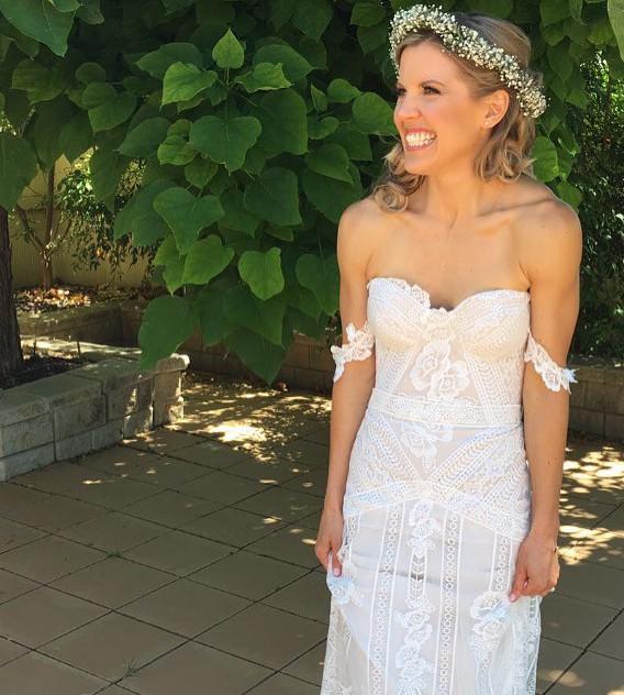 Rue De Seine Fox Gown Used Wedding Dress On Sale 26 Off