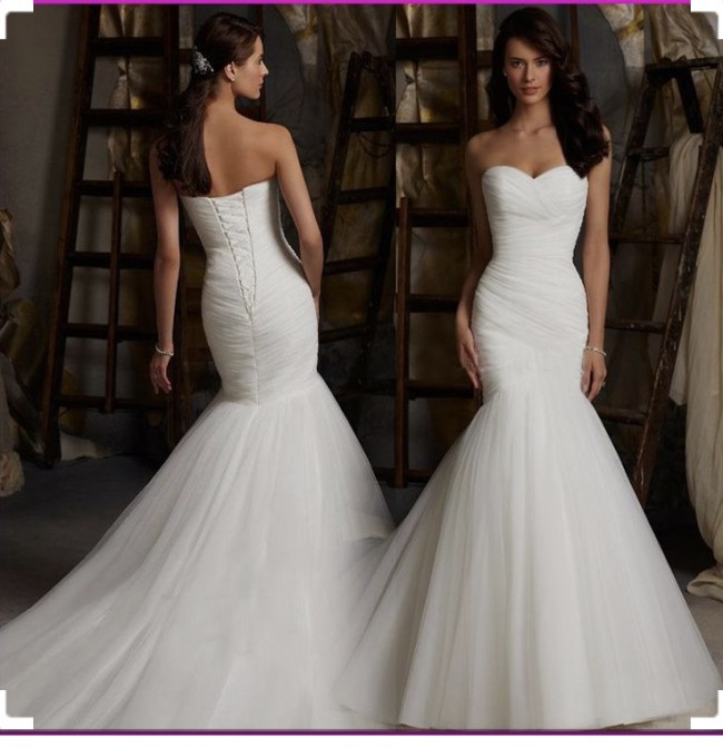 Morilee 5108 Used Wedding Dress On Sale