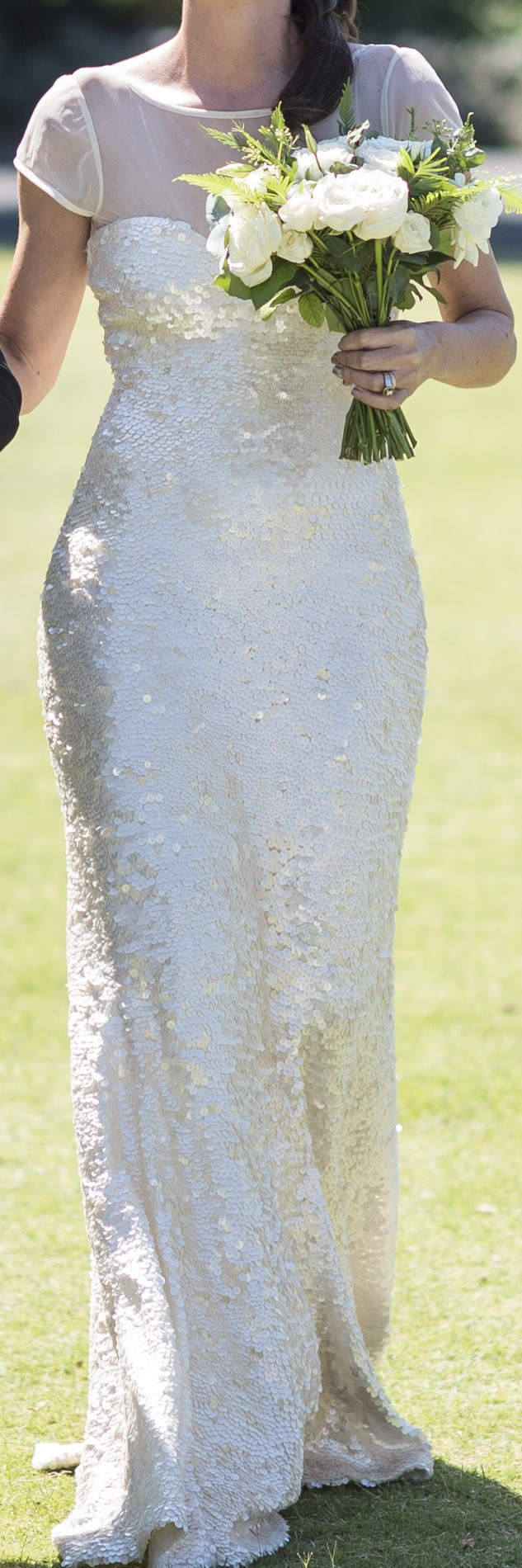 Karen Willis Holmes Anja Second Hand Wedding Dress on Sale 75% Off