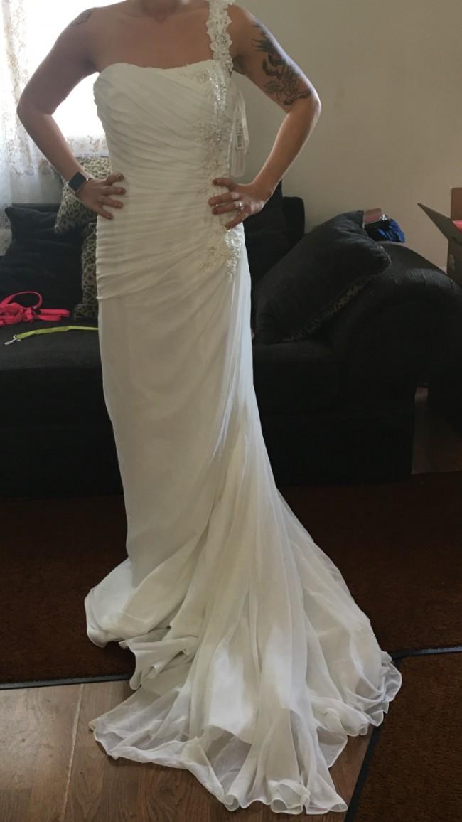 David's Bridal, ven style 33398