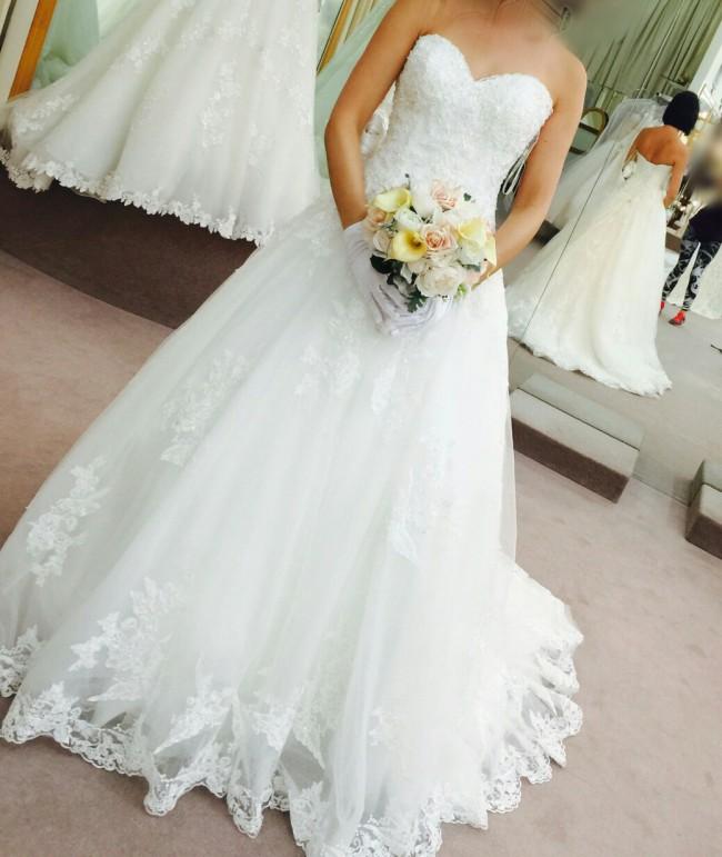 Maggie Sottero Dallasandra New Wedding Dress On Sale 60