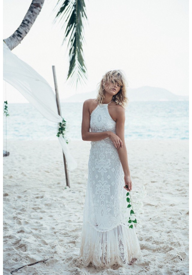 Spell & The Gypsy Collective Casablanca Halter Gown New Wedding ...