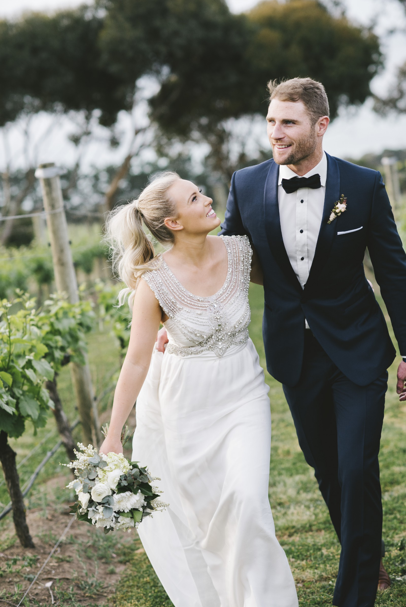 Anna Campbell Giselle (Brocade) - Second Hand Wedding Dresses ...