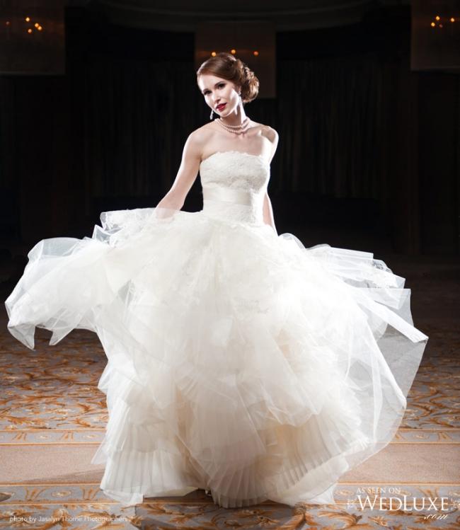 Vera Wang Vera Wang Eliza Wedding Dress Preowned Wedding