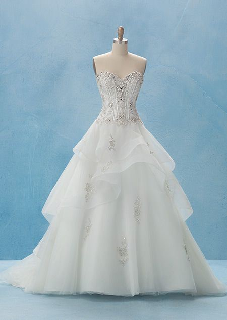 Alfred angelo disney princess collection belle style 217 for Wedding dress disney collection