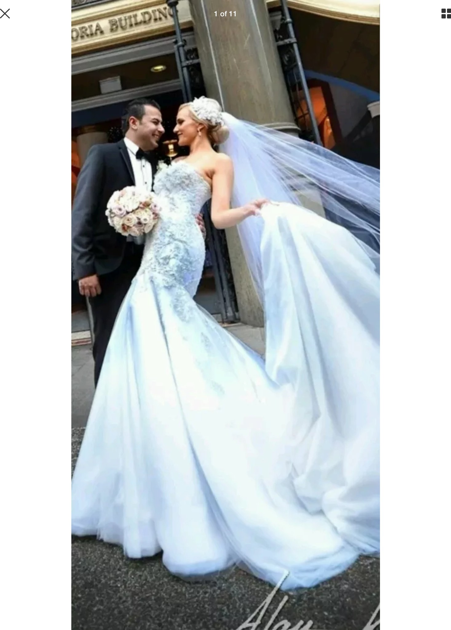 Norma bridal couture preowned wedding dress on sale 99 off for 99 dollar wedding dresses