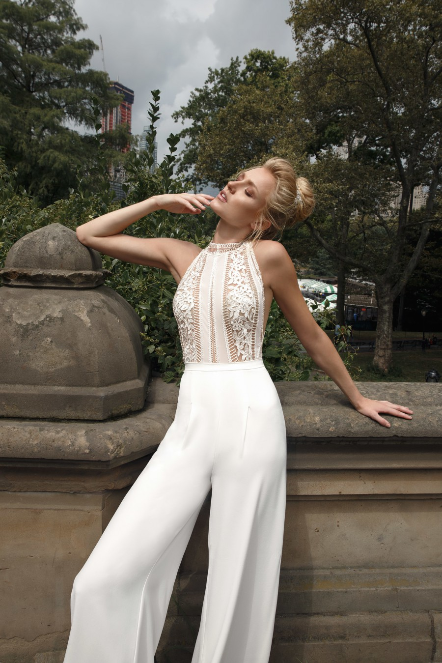 40 trending bridal jumpsuits  pant suits  the stillwhite