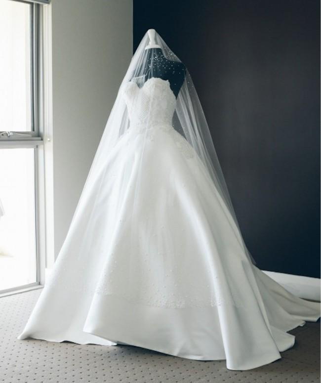 J\'aton Custom Made Preloved Wedding Dress on Sale 58% Off