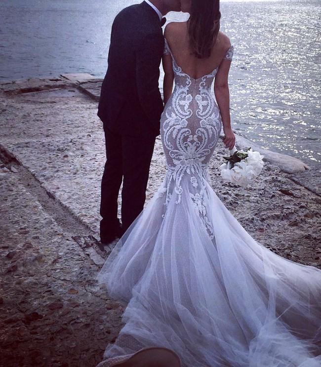 Steven Khalil Custom Made Used Wedding Dress on Sale 53% Off