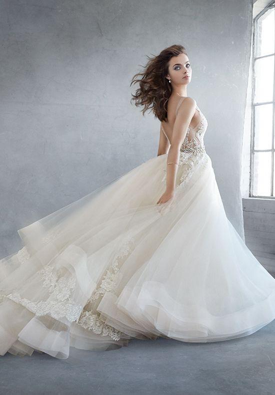Lazaro 3607 Second Hand Wedding Dress on Sale 56% Off