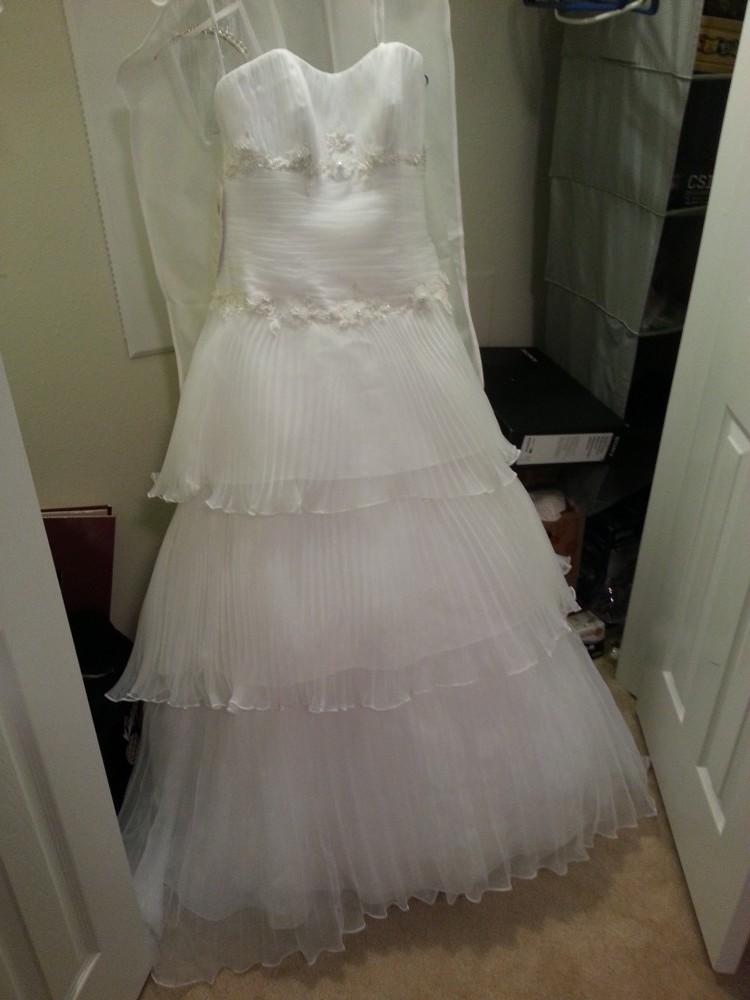 Alfred angelo new wedding dresses stillwhite for D angelo wedding dresses