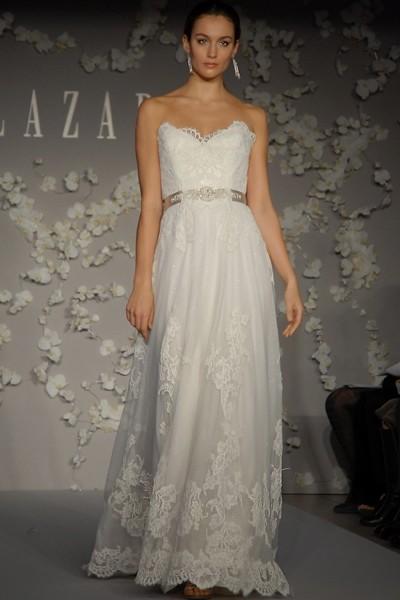 Lazaro Lz3004 Pre Owned Wedding Dress On Sale 55 Off