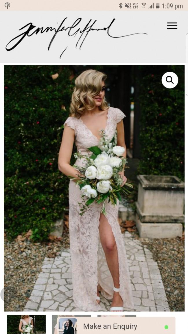 Jennifer Gifford Marceline Used Wedding Dress on Sale 32% Off